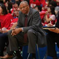 Toyama Grouses coach Bob Nash guided the club to a championship runner-up finish last  season in the bj-league.   B. LEAGUE