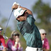 Matsuyama silences Tiger's roar, leads event by seven shots