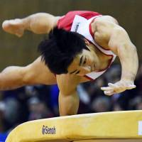 Shirai wins vault to complete Toyota double