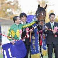 Satono Diamond edges Kitasan Black to win Arima Kinen
