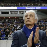 Japan manager Vahid Halilhodzic has told star player Keisuke Honda he needs to find regular club action. | REUTERS