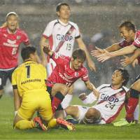 Cerezo beat Fagiano in playoff final to seal return to J1