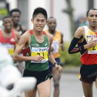 Kawauchi finishes third at Fukuoka International Marathon