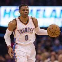 Westbrook dishes out 22 assists, gets 50th triple-double