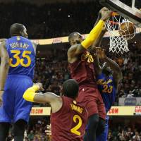 Cavaliers rally to beat Warriors in NBA Finals rematch
