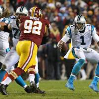 Panthers get past Redskins