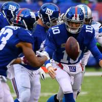 Giants aiming to clinch spot in Philly