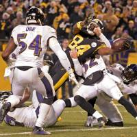 Steelers edge Ravens to clinch AFC North