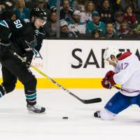 Sharks skate past Canadiens
