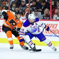 Flyers rally past Oilers, win seventh straight
