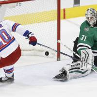 Returning stars Nash, Lundqvist lead Rangers past Stars