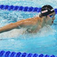 Seto completes three-peat at short-course worlds