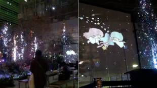 [VIDEO] Nihonbashi's 'Forest of Shooting Stars'