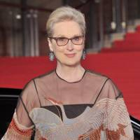 At the movies: Meryl Streep arrives at the Tokyo International Film Festival's red carpet on Oct. 25 to attend the screening of her film, 'Florence Foster Jenkins.' | YOSHIAKI MIURA