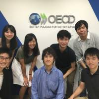 Organisation for Economic Co-operation and Development (OECD) Student Ambassadors promote OECD awareness at their universities. | OECD TOKYO CENTER