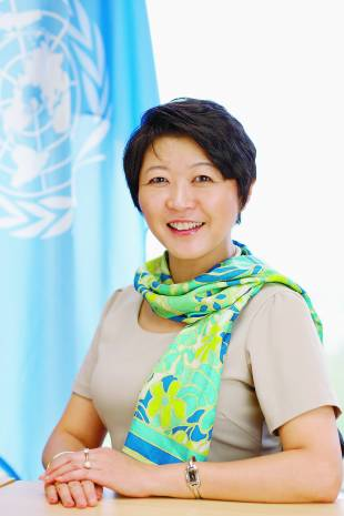 Kaoru Nemoto, director, the United Nations Information Centre, Tokyo