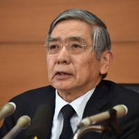 BOJ lifts growth forecasts but warns of 'uncertainty'