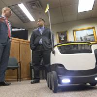 'Coolers on wheels' rolling bots may soon make test deliveries in Virginia