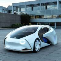 Toyota unveils concept car with AI and autonomous driving tech