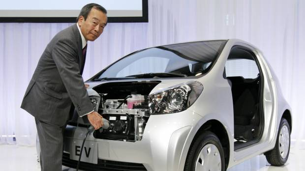 Toyota chairman says fuel cell cars need more time to catch on