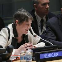 Former New Zealand leader Helen Clark to leave U.N. after failing to secure top job