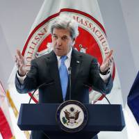 Kerry apologizes for past firings of gay U.S. State Dept. staff