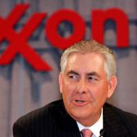 Tillerson to cede control of $240 million in Exxon as Trump pick