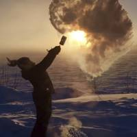Even in Alaska, minus 59 exacts toll, chills state of mind