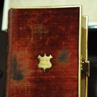 Trump to be sworn in on his own embossed Bible, and the one used by Lincoln, Obama