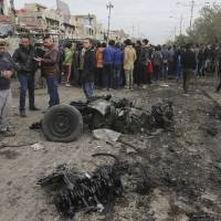 Islamic State member lures Baghdad laborers with job offers, detonates pickup, killing 36