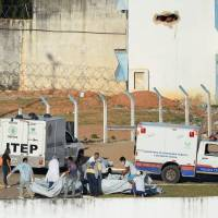 Brazil reports putting down two prison riots after at least 10 killed, 21 inmates flee