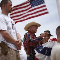 Bundy-led federal foes protest Obama's Nevada monument decision, hope Trump dumps it