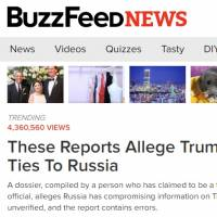 Drawing widespread criticism, BuzzFeed News published on Jan. 11 a full unverified 35-page dossier alleging that Russia has compromising information on President-elect Donald Trump.