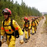 Chile holding 43 for 'possible responsibility' in deadly wildfires