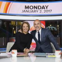 Guest Katie Couric returns to co-anchor NBC 'Today' show