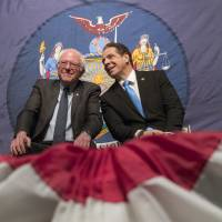 Democrat Cuomo reaches out to angry middle-class but skeptics see speech spree as dry presidential run