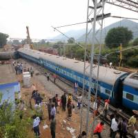 India probes Maoist rebel link as train derailment claims 39