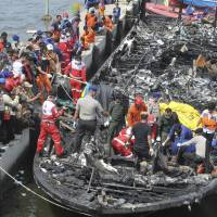 17 people still missing after Indonesia boat fire kills 23