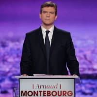 France's Montebourg marginally wins first left-wing primary debate, poll shows