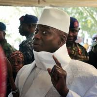 Gambia's defeated leader agrees to cede power