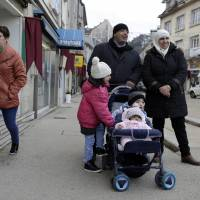 Fading French town offers chance for Syrian family after Islamic State, ocean ordeal