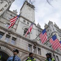 Trump's D.C. hotel a hub of activity and ethics questions