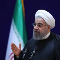 Iran's Rouhani to Trump: 'Not the time to build walls'