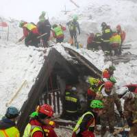 Survivors recall dark ordeal in avalanche-buried Italy inn as hope fades of finding more alive