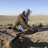Twenty years after Diana campaign, new land-mine crisis plagues Iraq and Syria