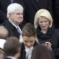 Gingrich wants 'left-wing fascist' Madonna arrested for White House remark