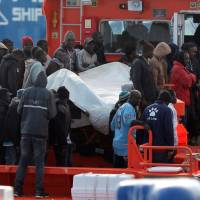 1,100 migrants swarm border at Spain's Ceuta in desperate bid to get to Europe