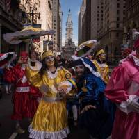 Philly's 116-year-old Mummers Parade offers diversity in lively New Year's welcome