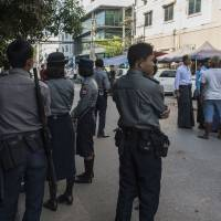 Yangon Muslim festival squelched by Buddhist nationalists as police look on