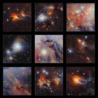 'Star factory' in Orion glimpsed through dust clouds
